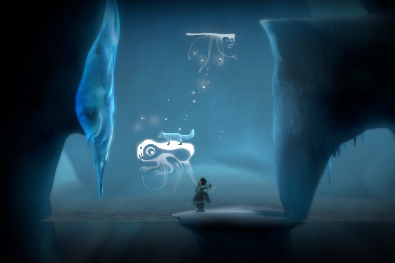 """Ekrano nuotrauka iš žaidimo""""Never Alone"""""""