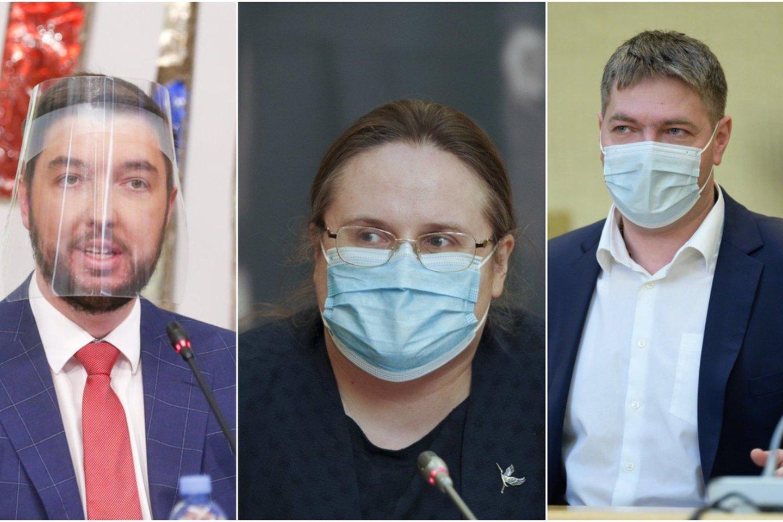 Vytautas Mitalas, Agnė Širinskienė, Andrius Mazuronis.<br>lrytas.lt koliažas