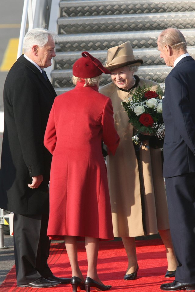 Ofilialaus karalienės Elizabeth II ir princo Philipo vizito Lietuvoje akimirkos. 2006-ieji.<br>LR archyvo nuotr.