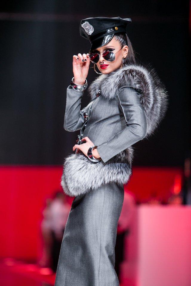 Asta Valentaitė Juozo Statkevičiaus šou 2015-aisiais.<br>T.Bauro nuotr.