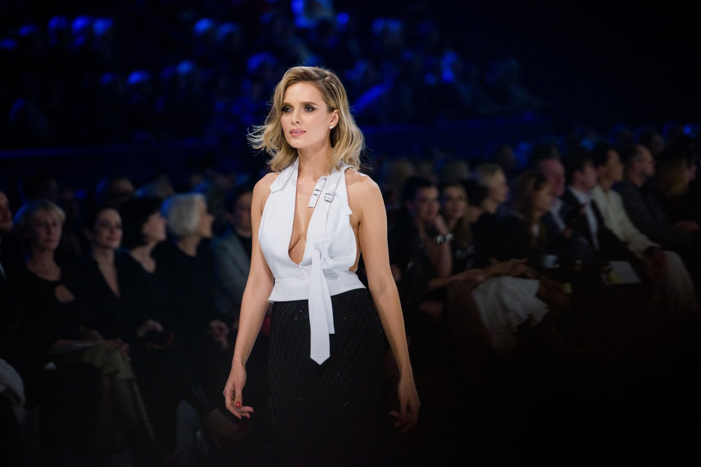 Asta Valentaitė Juozo Statkevičiaus šou 2018-aisiais.<br>J.Stacevičiaus nuotr.