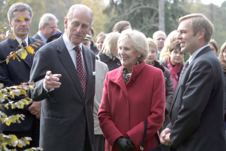 Ofilialaus karalienės Elizabeth II ir princo Philipo vizito Lietuvoje akimirkos. 2006-ieji.<br>T. Bauro nuotr.