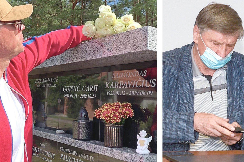 Po sunkios smegenų ligos mirusio milijonieriaus sūnus R.Karpis yra girdėjęs, kad prieš jį rezgami planai. Jį sukompromituoti galėjo siekti dėdė H.Karpavičius.<br>Nuotr. iš asmeninio albumo