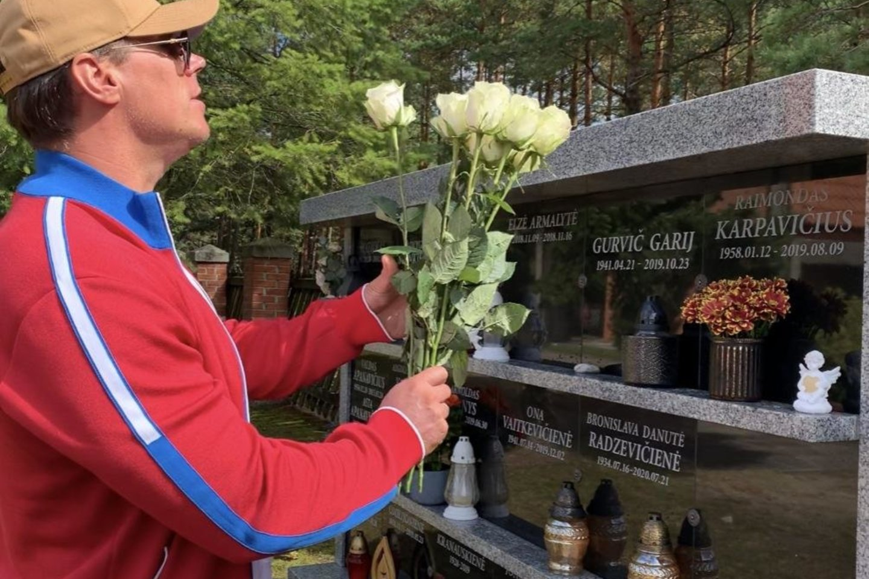 R.Karpis tvirtino, kad jam net nebuvo pranešta apie tėvo laidotuves.<br>Asmeninio albumo nuotr.