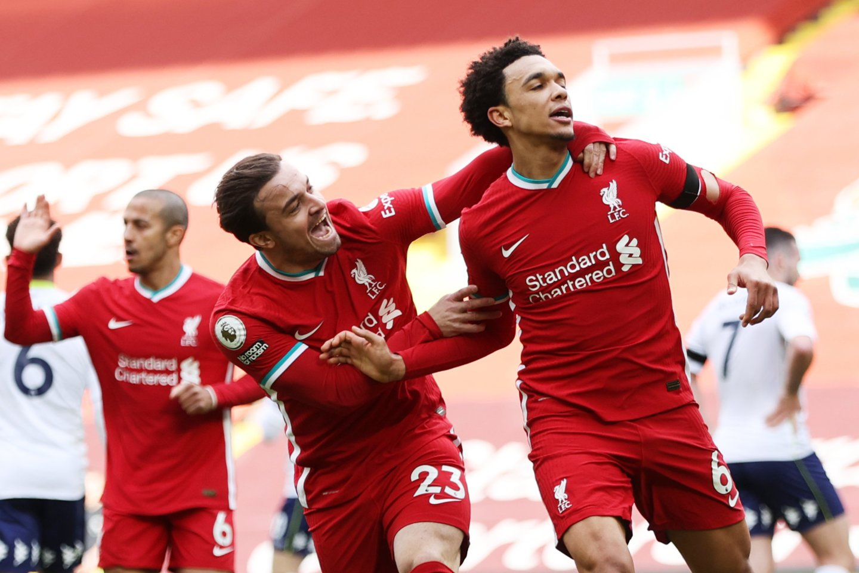 """""""Liverpool"""" palaužė """"Aston Villa"""".<br>Reuters/Scanpix nuotr."""