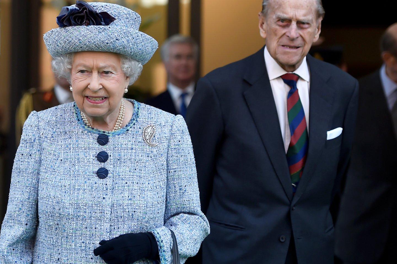Elizabeth II ir Philipas.<br>Scanpix nuotr.