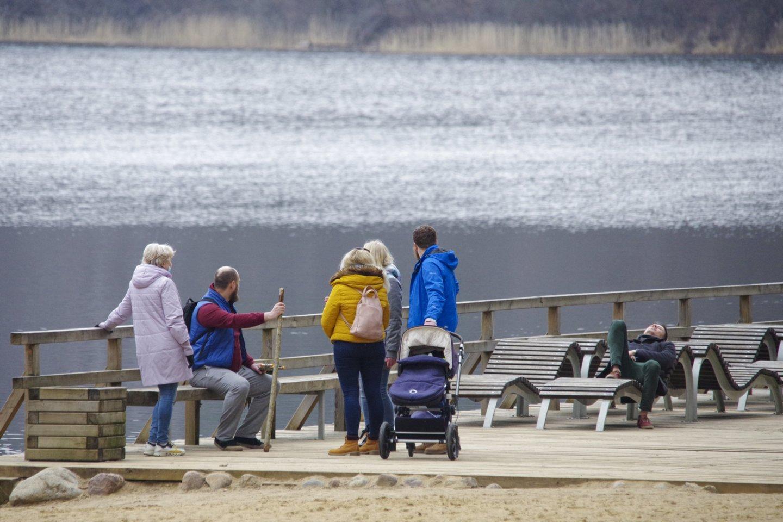 Pavasarinė šiluma mūsų šalyje išsilaikys tik porą dienų.<br>V.Ščiavinsko nuotr.