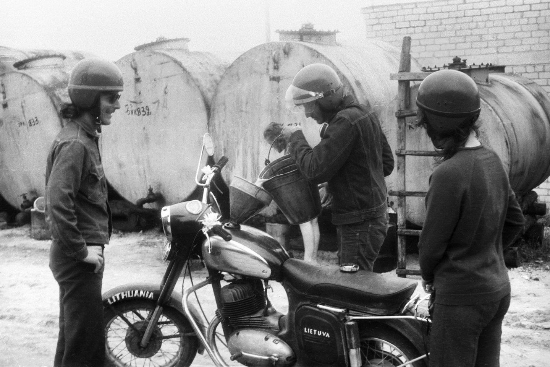 Aukštaitijoje, 1973 m.<br>R.Požerskio nuotr.