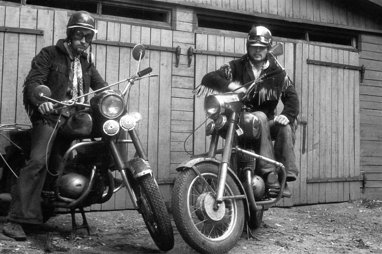 Romualdas ir Virgis, 1973 m.<br>R.Požerskio nuotr.