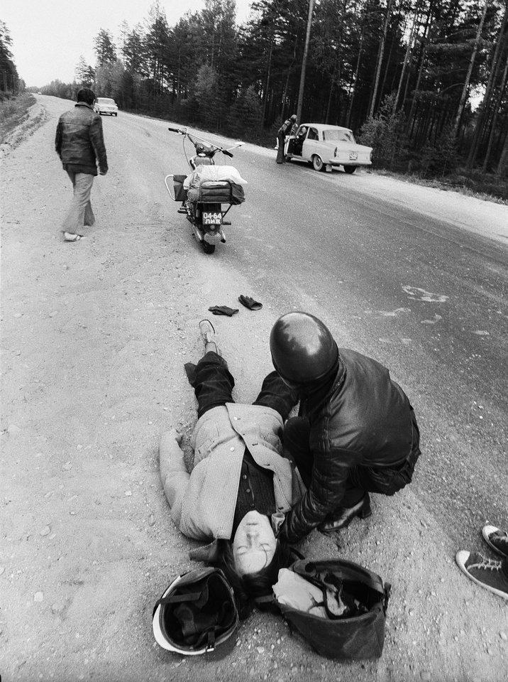 Avarija, 1974 m.<br>R.Požerskio nuotr.