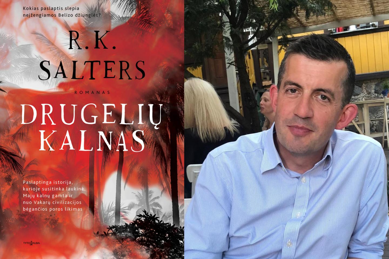 """R.K.Salterso romanas """"Drugelių kalnas"""" nukelia į Pietų Amerikoje esančią džiunglių ir kalnų valstybę Belizą.<br>Nuotr. iš asmeninio archyvo"""