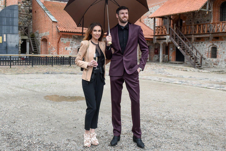 Kšištofas ir Tatjana Lavrinovičiai.<br>D.Umbraso nuotr.