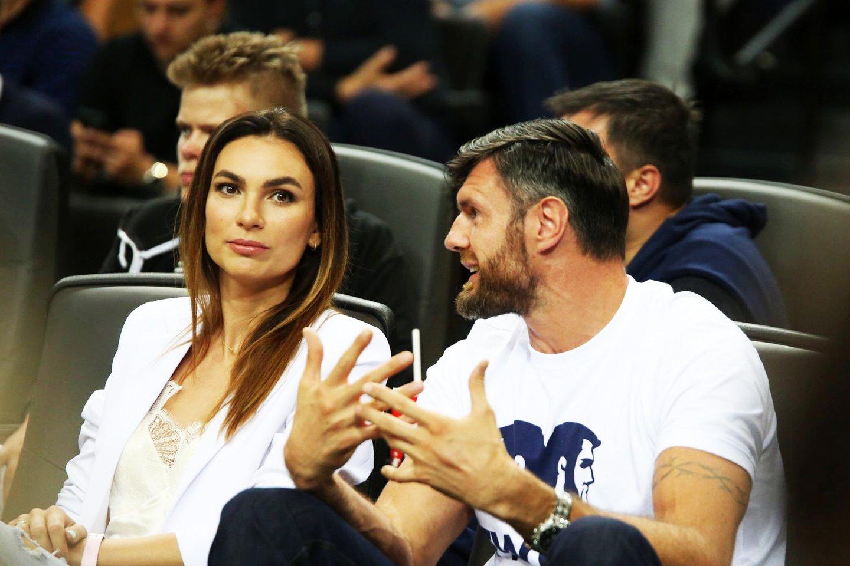 Kšištofas ir Tatjana Lavrinovičiai.<br>M.Patašiaus nuotr.