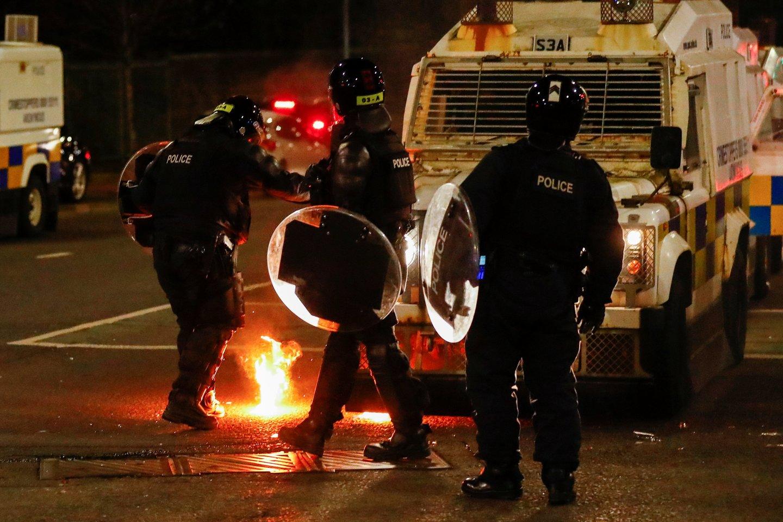 Neramumai Šiaurės Airijoje.<br>Reuters/Scanpix nuotr.