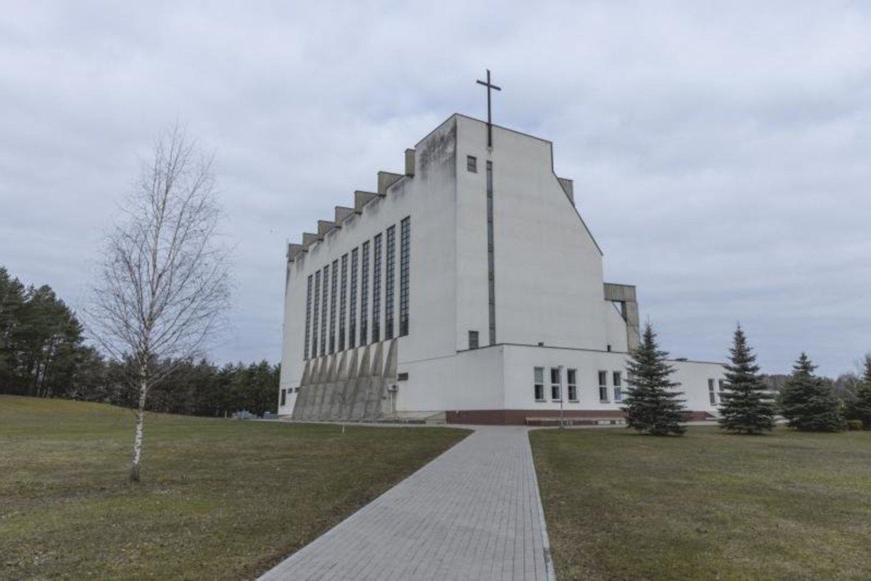 Vilniaus Palaimintojo Jurgio Matulaičio bažnyčia,2021.<br>V.Petrikaitės nuotr.