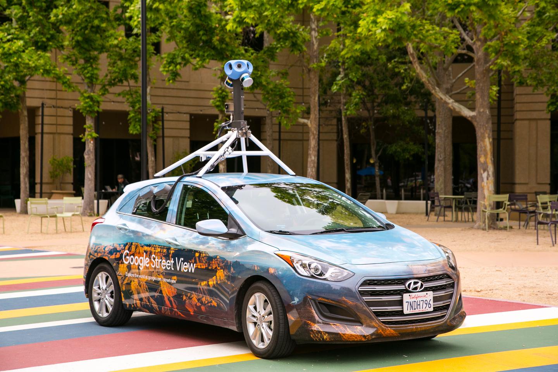 """Informaciją apie tai, kur šiuo metu važiuoja """"Google Street View"""" automobiliai, galite rasti internete.<br>""""Google"""" nuotr."""