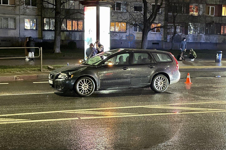 Per avariją Vilniuje žuvo pėsčiasis.<br>V.Ščiavinsko nuotr.