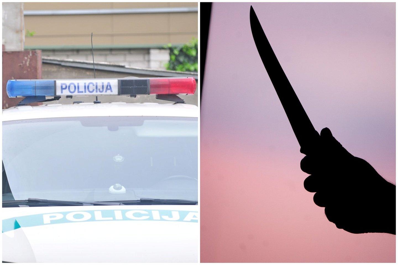 Jonavoje rastas peiliu subadytas vyro kūnas, areštinėje atsidūrė girta moteris.<br>Lrytas.lt fotomontažas