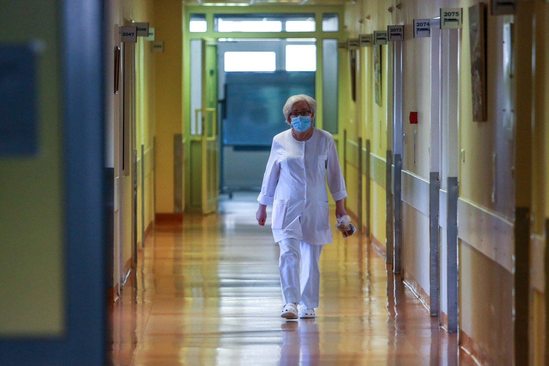 Ligoninė.<br>G.Bitvinsko nuotr.