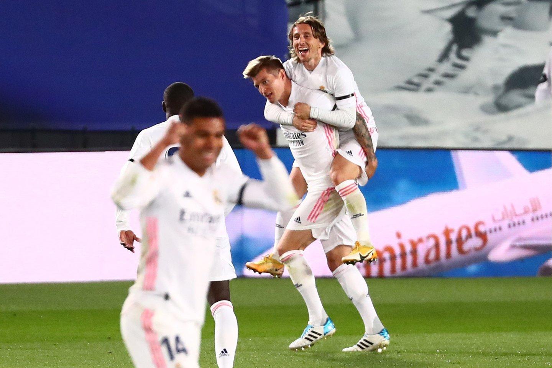 """Madrido """"Real"""" ekipa rodo galingą žaidimą.<br>Reuters/Scanpix nuotr."""