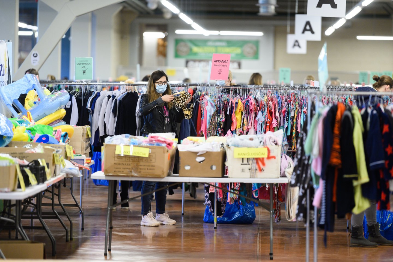 Išankstinis apsipirkimas skirtas mugės partneriams, kurie ir pristato patys prekes į ją.<br>V.Skaraičio nuotr.