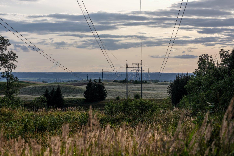 """Kai reikėjo pasirinkti nepriklausomus elektros tiekėjus, Antanas J. pasirinko """"Enefit"""", nes jie dirba su žaliąja energija.<br>V.Ščiavinsko nuotr."""