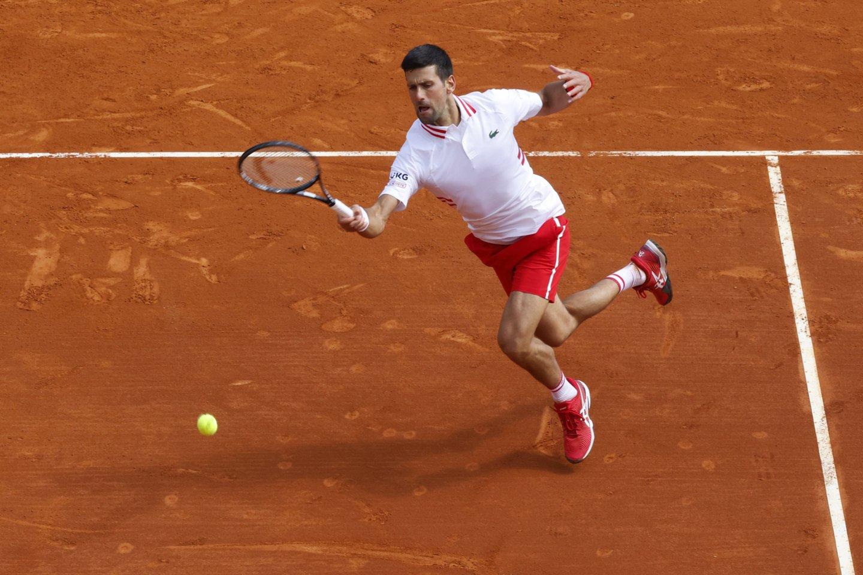 Novakas Džokovičius pralaimėjo.<br>Reuters/Scanpix.com nuotr.