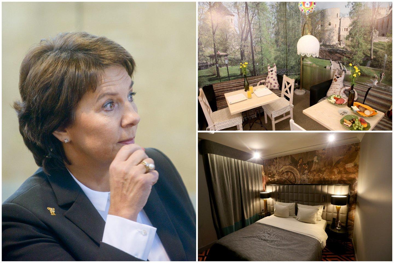 E.Šiškauskienė akcentavo, kad jos atstovaujamuose versluose labai svarbi parama grįžtantiems į darbą.<br>Lrytas.lt montažas.