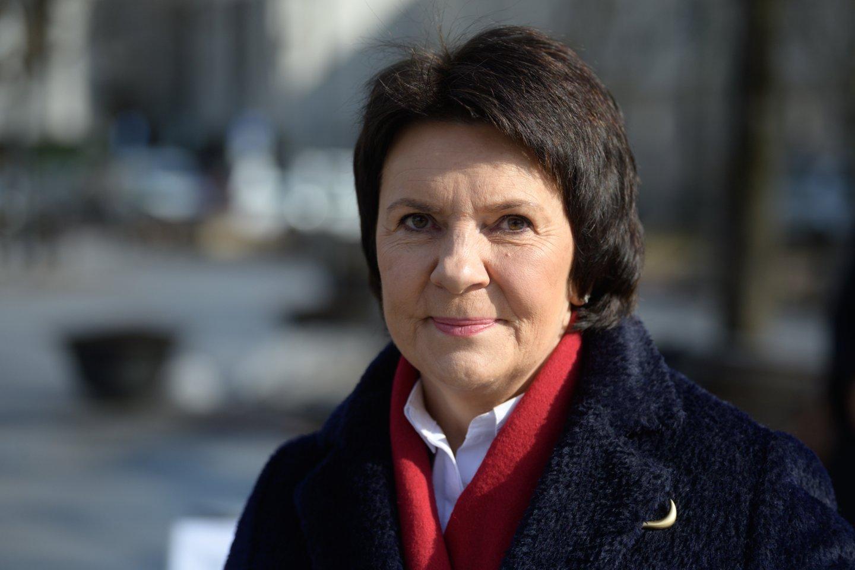 E.Šiškauskienė akcentavo, kad jos atstovaujamuose versluose labai svarbi parama grįžtantiems į darbą.<br>V.Skaraičio nuotr.