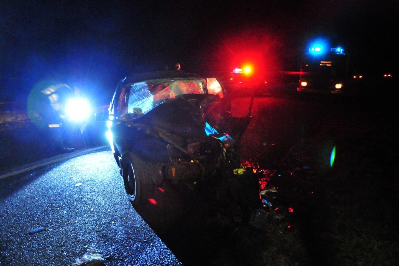 3 žmones pražudžiusią avariją Kauno rajone sukėlęs 23-ejų vairuotojas buvo girtas.<br>A.Vaitkevičiaus asociatyvi nuotr.