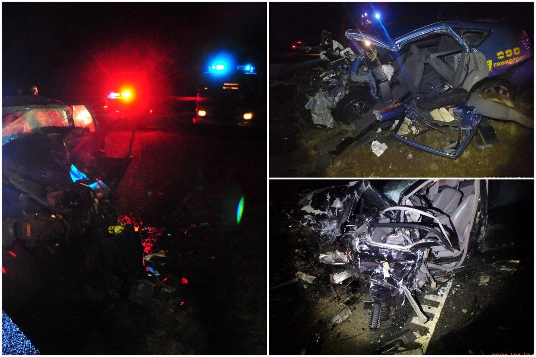 3 žmones pražudžiusią avariją Kauno rajone sukėlęs 23-ejų vairuotojas buvo girtas.<br>Lrytas.lt koliažas