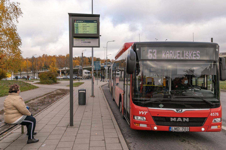 Artėjant Motinos dienai ir siekiant užtikrinti saugias keliones tiems, kurie lankys artimųjų kapus, Vilniuje numatomi viešojo transporto organizavimo pakeitimai.<br>Pranešėjų spaudai nuotr.