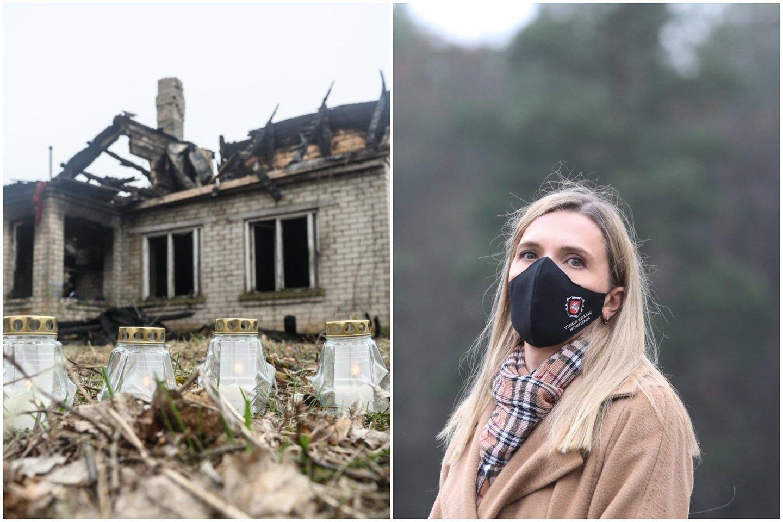 A. Bilotaitė apie tragiškais gaisrais pažymėtą savaitę: tai yra neatleistina.<br>Lrytas.lt koliažas