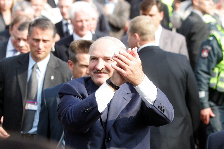 A.Lukašenka.<br>T.Bauro nuotr.