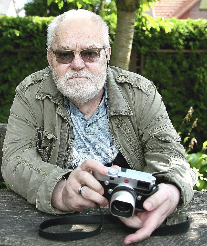 Fotomenininkas Antanas Sutkus.<br>R.Danisevičiaus nuotr.