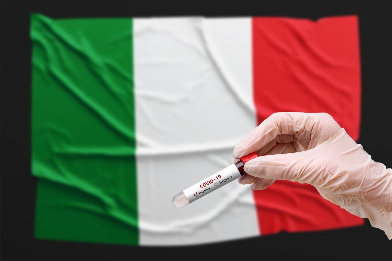 Italijos premjeras Mario Draghis penktadienį pranešė, kad jo šalis pradės švelninti dėl koronaviruso įvestus apribojimus balandžio 26 d.<br>123rf nuotr.