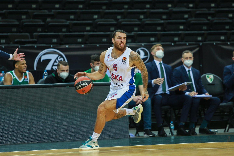 Su CSKA skandalingai išsiskyrės M. Jamesas sudomino NBA klubą.<br>G.Bitvinsko nuotr.