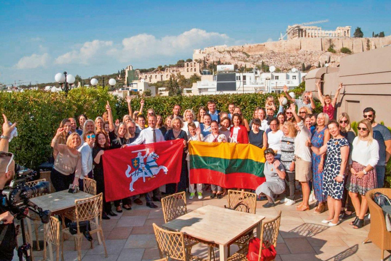 Pirmasis Graikijos ir Kipro lietuvių suvažiavimas, 2017 m. spalio 21 d.<br>Leidėjų nuotr.