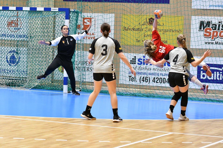 Lietuvos moterų rankinio lygoje finišavo ketvirtfinalio etapas.<br>LRF nuotr.