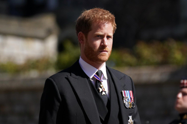 Princas Harry.<br>Reuters/Scanpix nuotr.