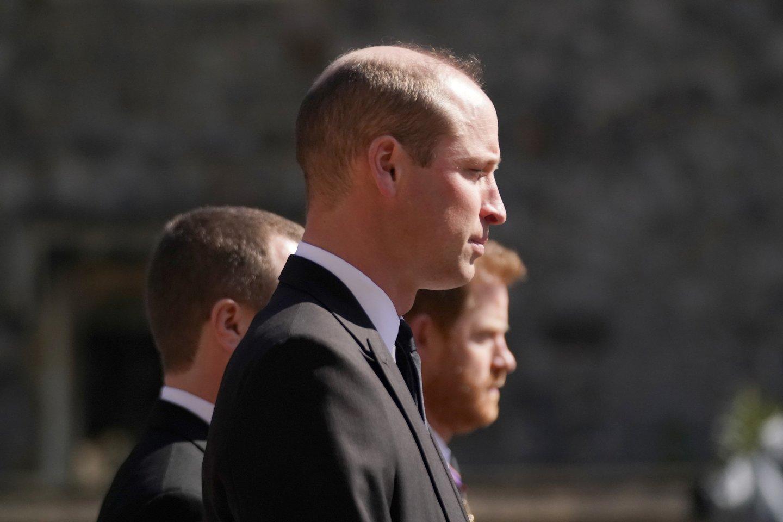 Princas Williamas ir princas Harry.<br>Reuters/Scanpix nuotr.