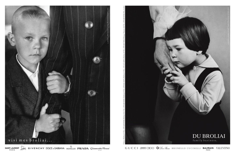 """Garsios įmonės """"Du broliai"""" išskirtinėje reklamoje – įspūdingos A.Sutkaus fotografijos """"Tėvo ranka"""" ir """"Mamos ranka"""".<br>Nuotr. iš LR archyvo"""