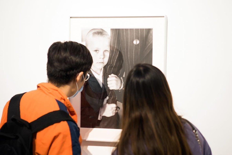 """Pekine didelio susidomėjimo sulaukė A.Sutkaus fotografijų paroda """"Planet Lithuania"""".<br>Asmeninio archyvo nuotr."""