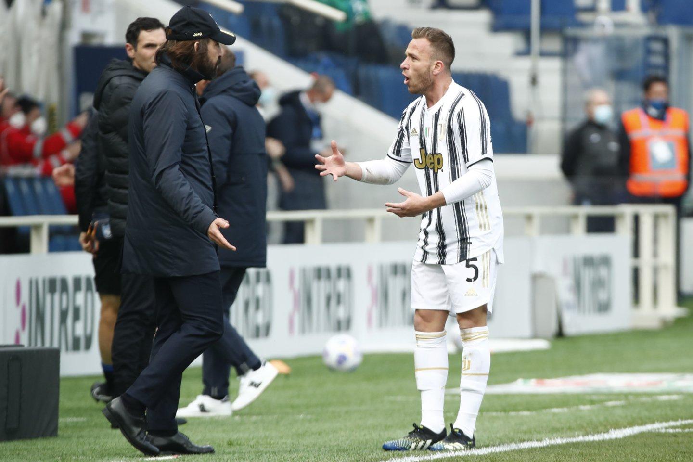 """Juventus"" neįveikė ""Atlanta"".<br>Reuters/Scanpix nuotr."
