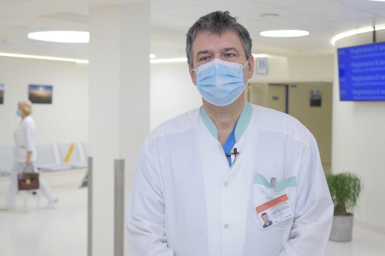 Robertas Badaras<br>TV laidos Sveikatos medis stopkadras