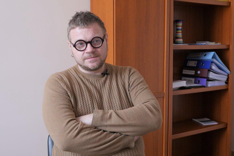 Jaunius Urbutis<br>TV laidos Sveikatos medis stopkadras
