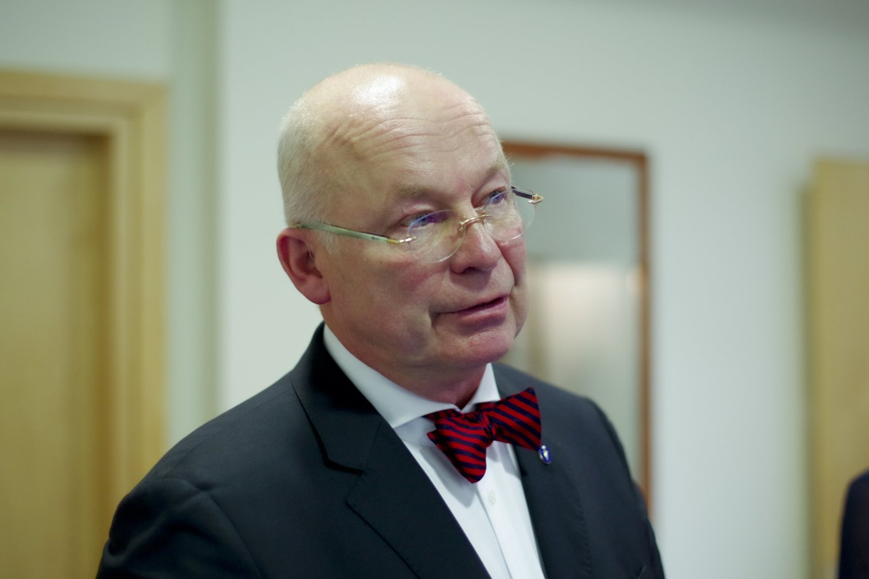 Profesorius Kęstutis Vitkus<br>V.Ščiavinsko nuotr.