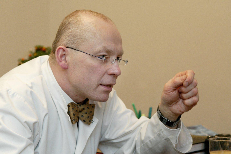 Profesorius Kęstutis Vitkus<br>AP nuotr.