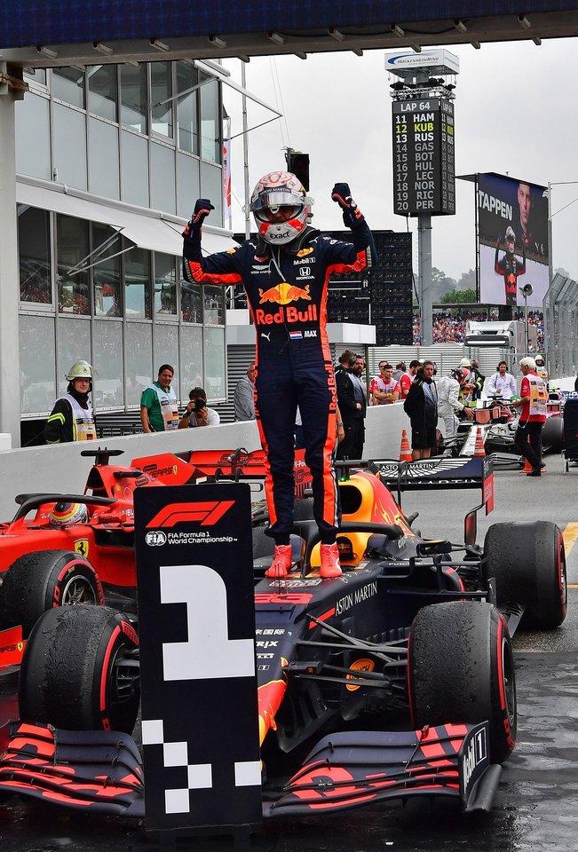 Maxas Verstappenas.<br>AFP/Scanpix nuotr.