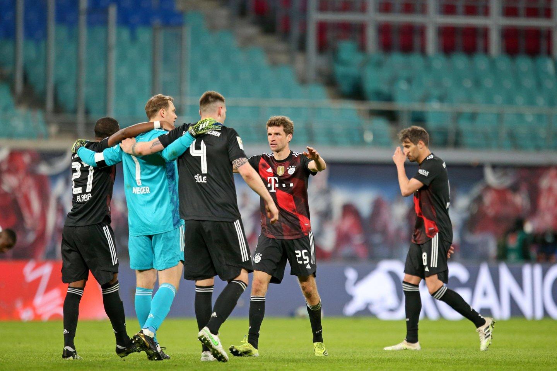 """Miuncheno """"Bayern"""" iškrito iš Čempionų lygios.<br>Imago/Scanpix nuotr."""